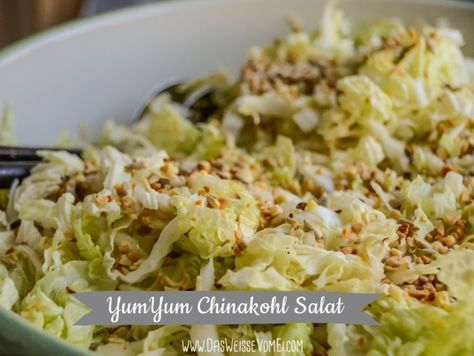 YumYum Chinakohl Salat {www.dasweissevomei.com}