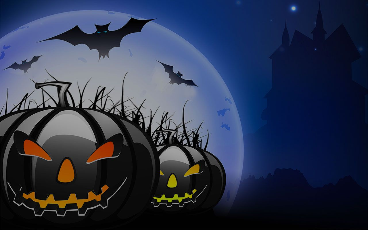 Scary Halloween Scenes Free Halloween Backgrounds Animated Halloween Backgrounds 1280x800 Halloween Scene Scary Halloween Halloween Backgrounds