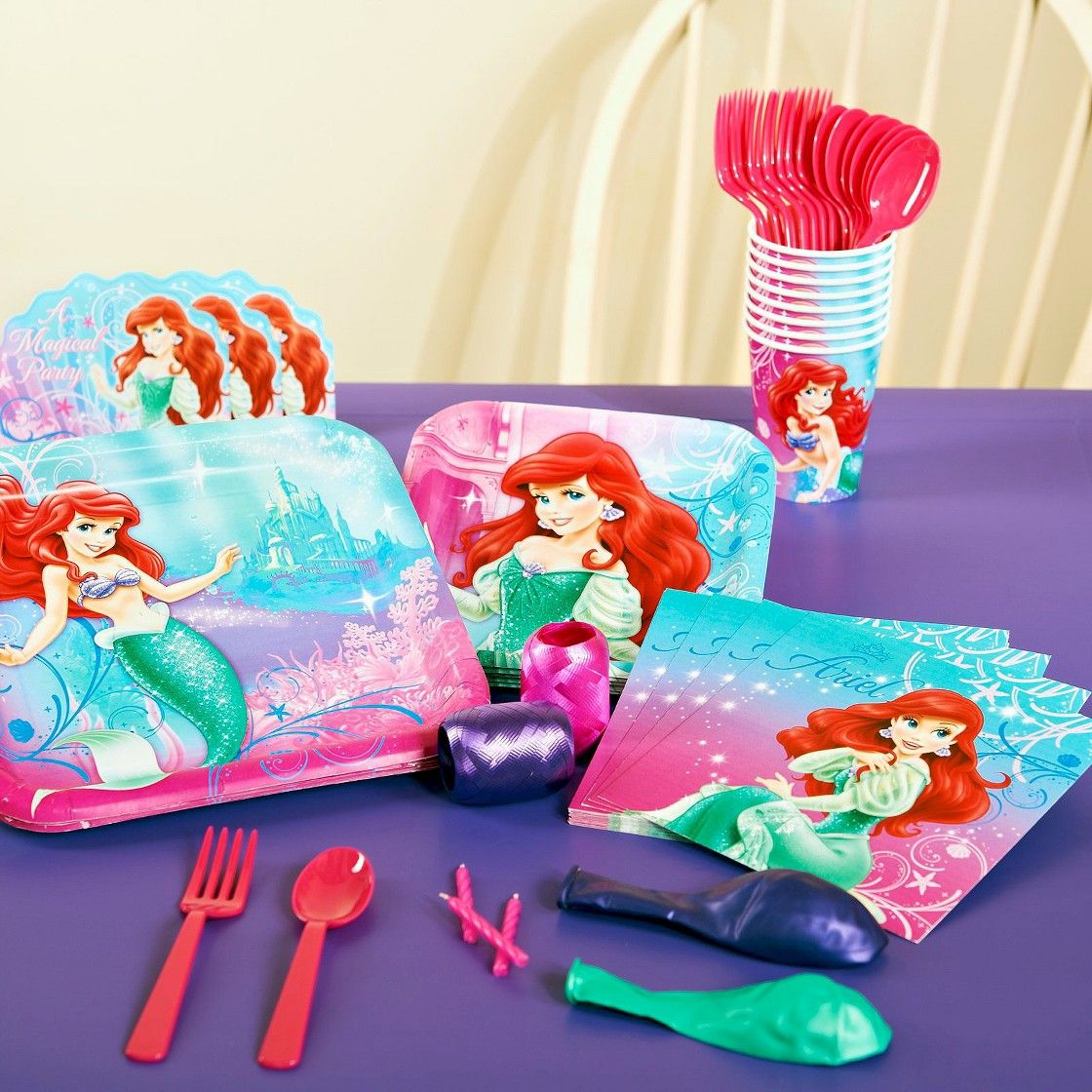 The Little Mermaid Sparkle Birthday Part