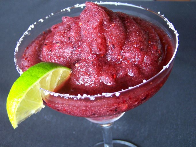 Black Raspberry Margaritas
