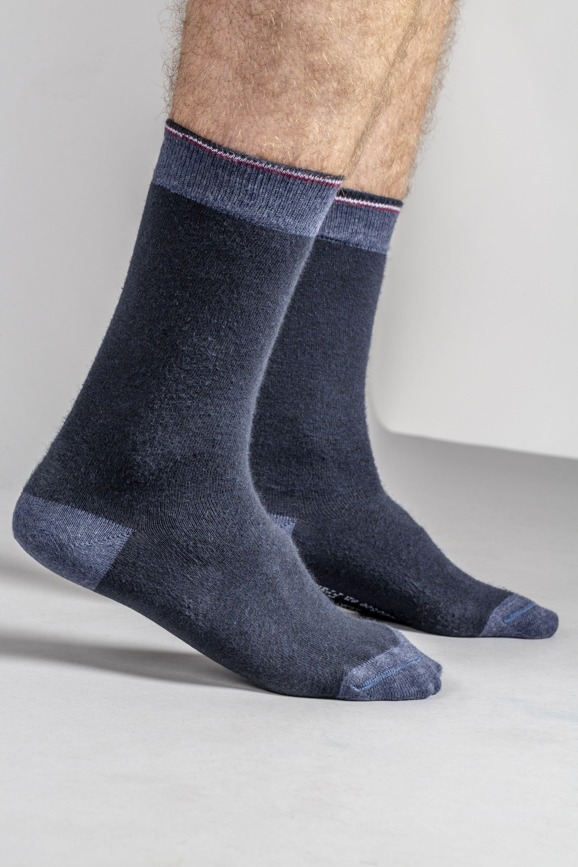 99c356b889d Socks – Chaussettes navy mixte – coton recyclé