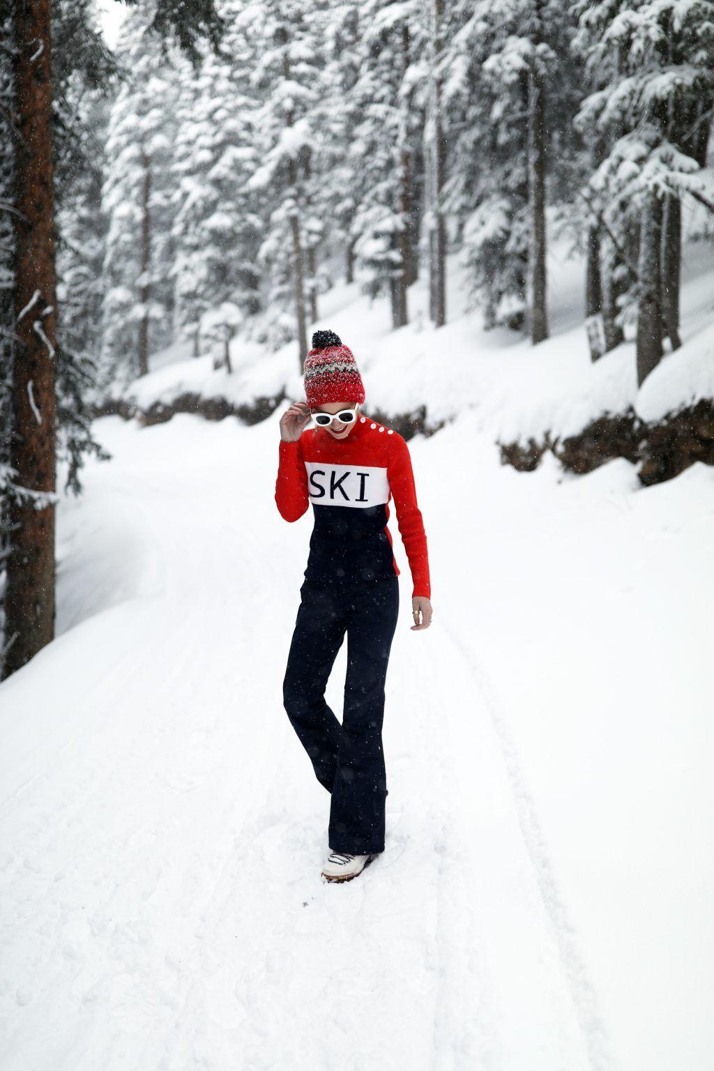 tenue de ski moncler
