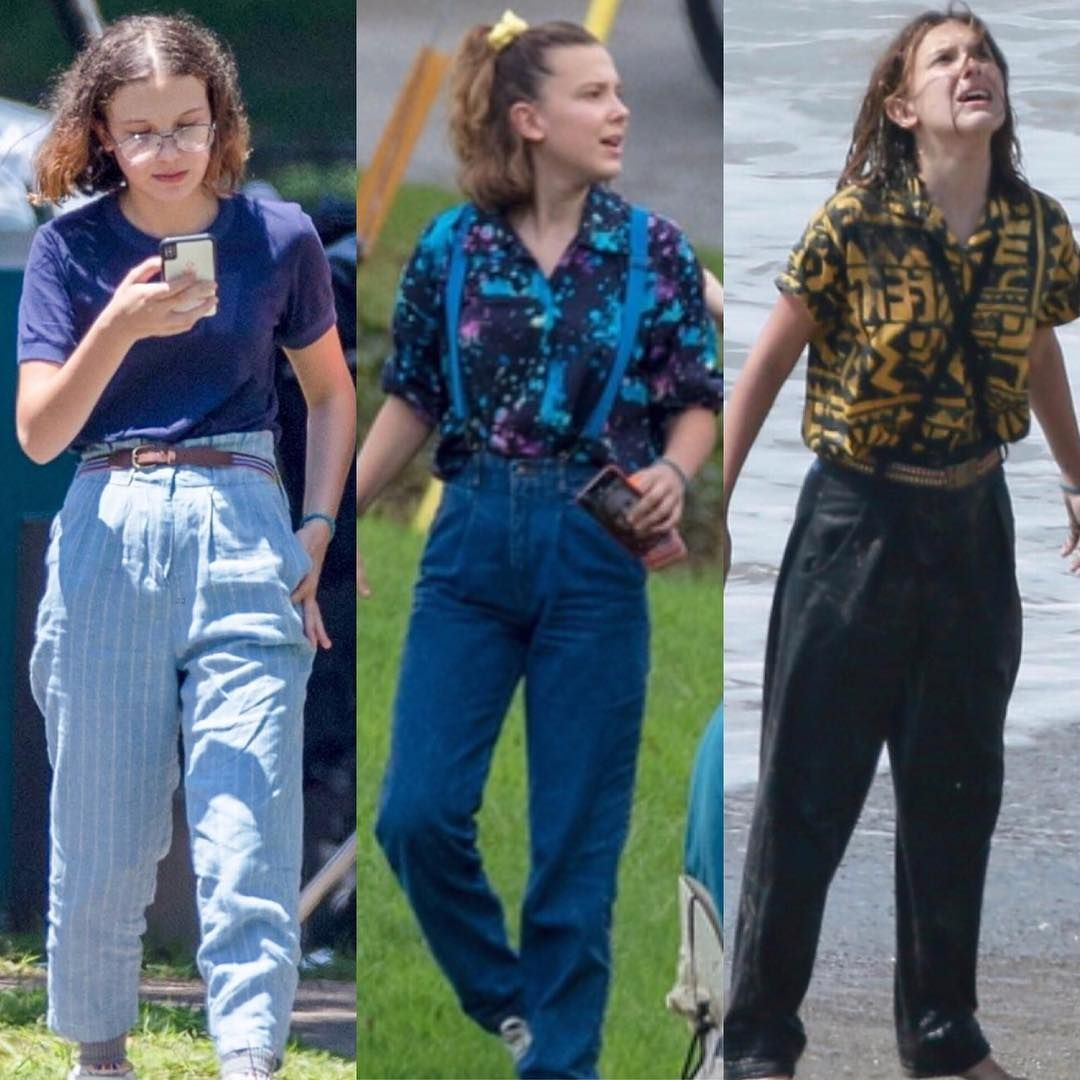 Vc tbm acho a Eleven mais estilosa nessa temporada de  Stranger Things? Salve esse pin*