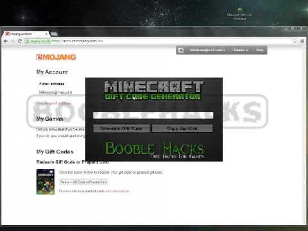 minecraft birthday present | Minecraft Gift Code Generator - free gift codes for minecraft