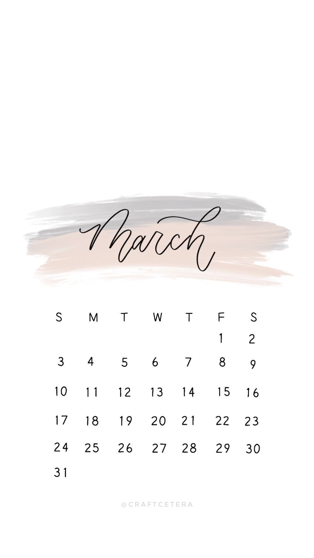 Free Calendar Wallpaper Design For Iphone Android Calendar2019