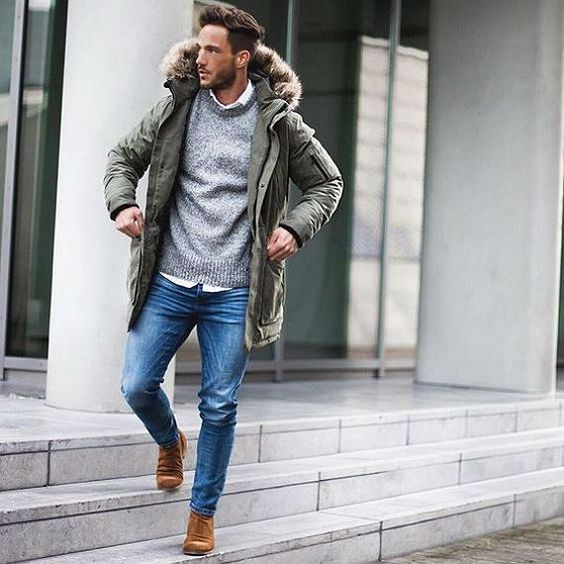 37 Classy Winter Jackets for Men to be Fashionable all ...