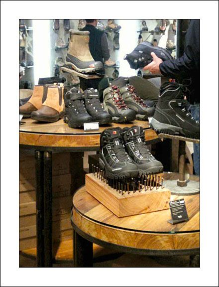 Rei Boots Hike A Bed Of Nails Window Dressing Visual