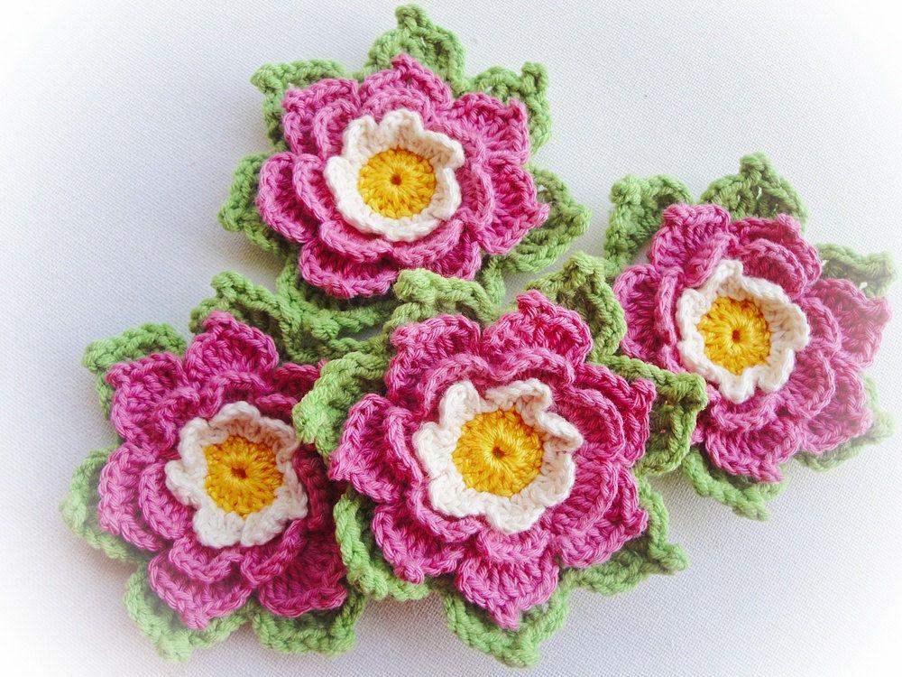 Adelie Crochet Flower