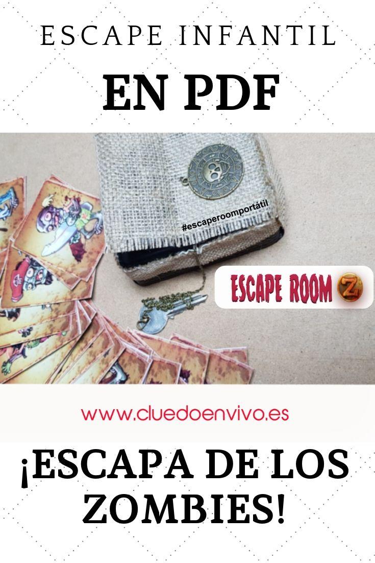 Escape Room Casero En Pdf Los Zombis Divertidos Marzo 2020 Programacion Para Niños Búsqueda Del Tesoro Para Niños Escape Room