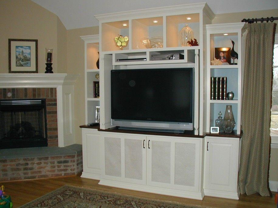 Decoration, Wonderful Minimalist Family Room Ideas With White Wood ...