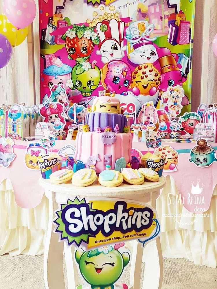 Shopkins Birthday Party Ideas Photo 1 of 14 Shopkins