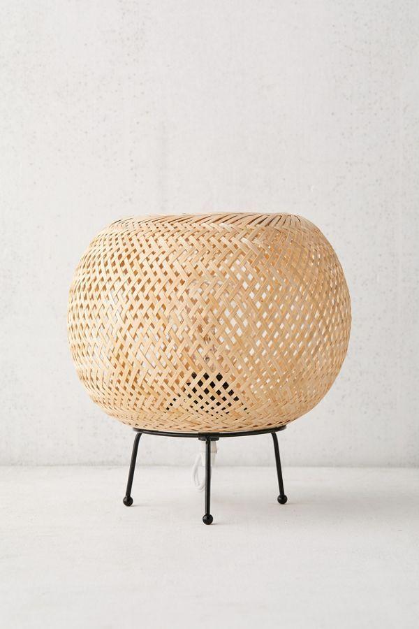 Alina Rattan Table Lamp Rattan Bedroom Lamps Best Desk Lamp