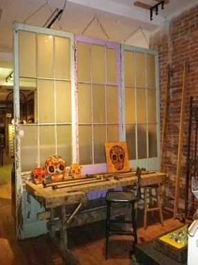 These Old Windows Doors Would Make Amazing Room Dividers Room