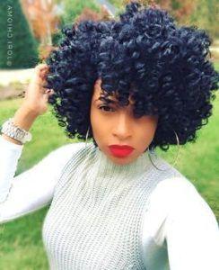 Short Crochet Hairstyles #crochetbraids