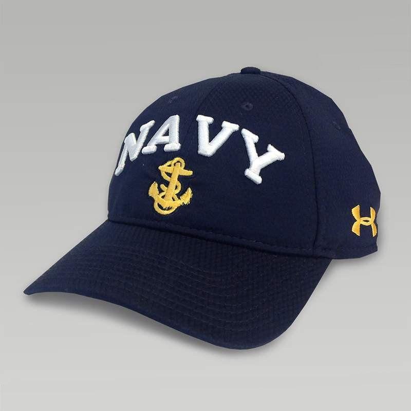 6614830f82c Navy under armour logo zone hat