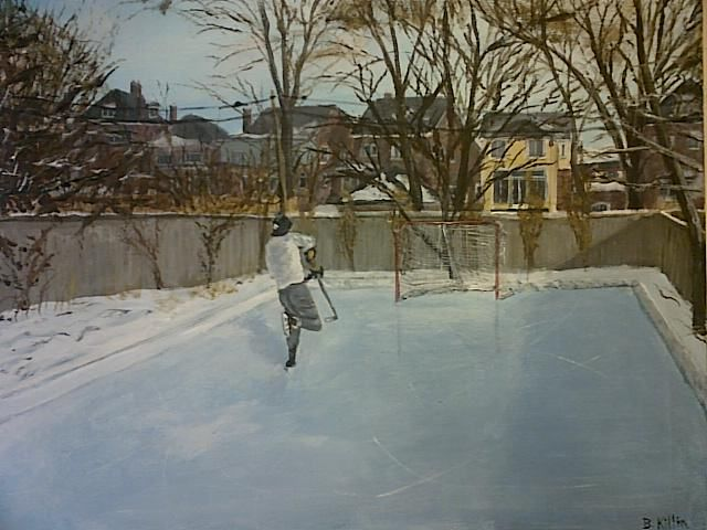 Tips for Creating a Backyard Ice Rink   Backyard rink ...