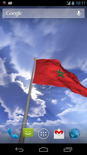 A Brand New Real 3d Morocco Flag Live Wallpaper Which You Can View In 360 Degree This Is An Interactive Morocco Flag W Live Wallpapers Morocco Flag Sudan Flag