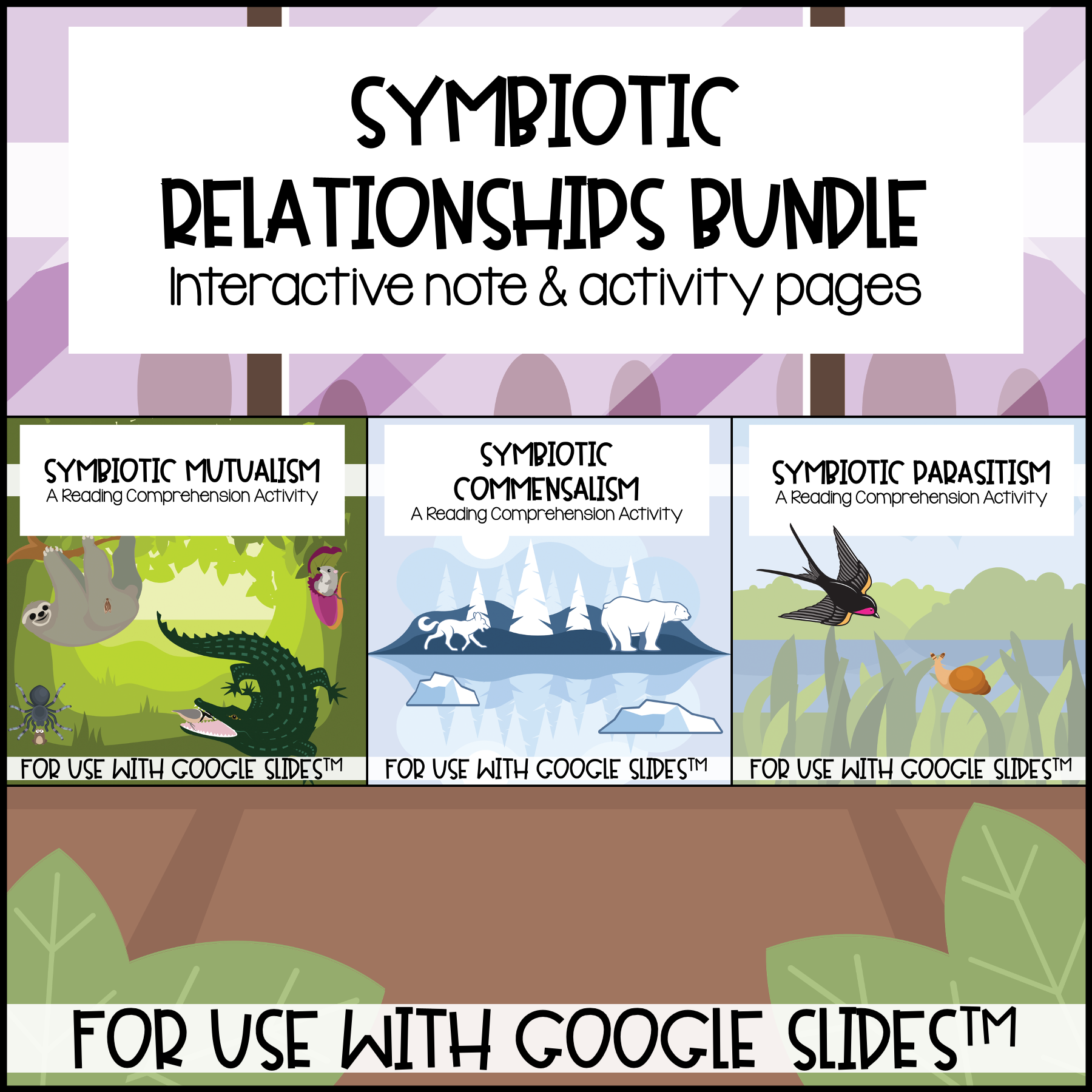 Symbiotic Relationships For Use With Google Slides Distance Learning Symbiotic Relationships Distance Learning Interactive Notes [ 1800 x 1800 Pixel ]