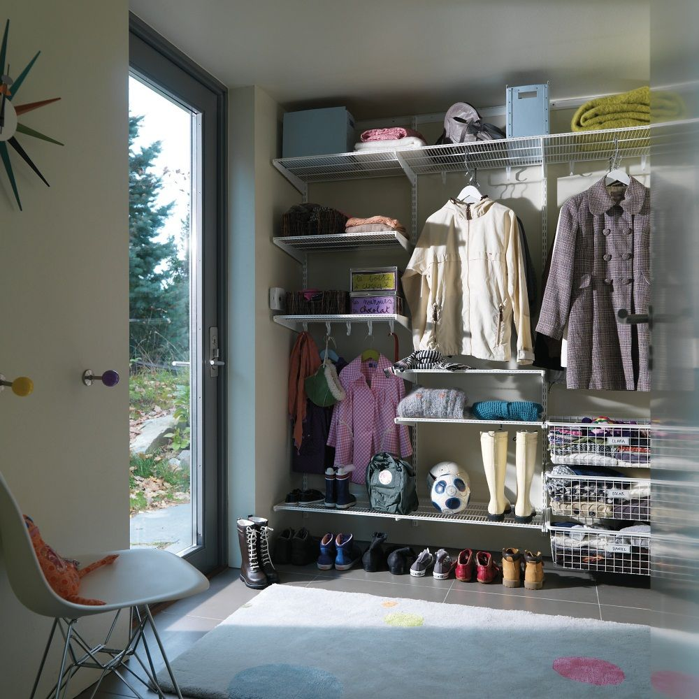 Systemy Do Zabudowy Elfa Elfa Shelving Boot Room Room Shelves
