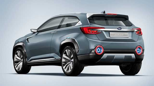 2017 Subaru Tribeca Rear View
