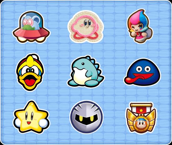 Stickers Kirby Nintendo Kirby Nintendo