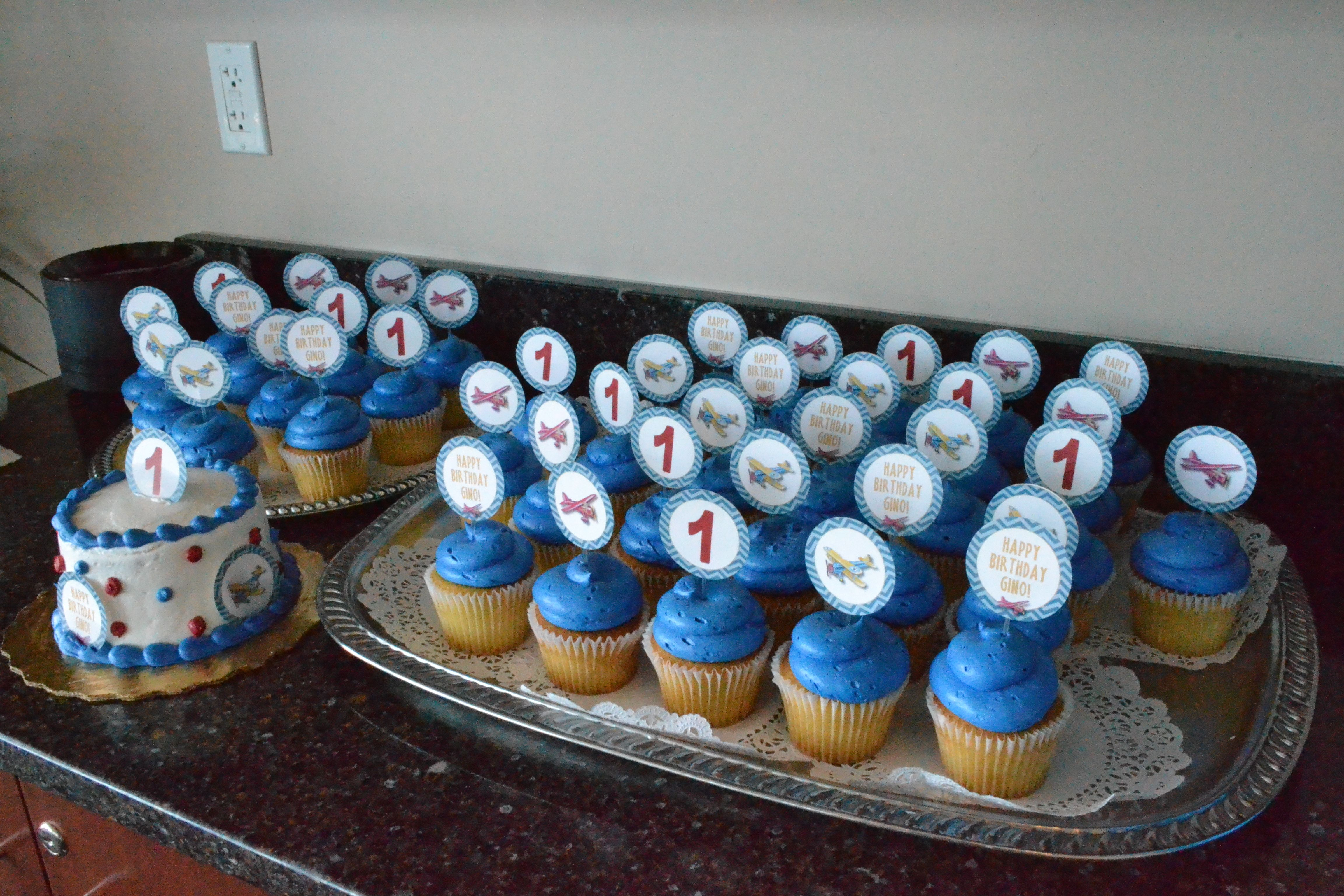 Airplane Cupcakes Publix Bakery Custom Order