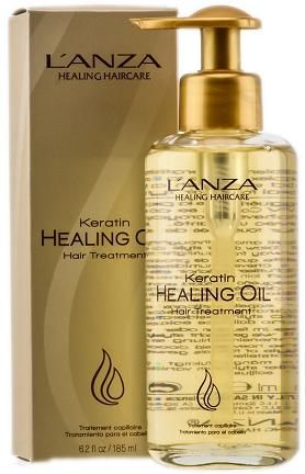 Do you have damaged hair? Let's face it, most of us do! Try the Lanza Keratin Healing Oil to help repair your hair!
