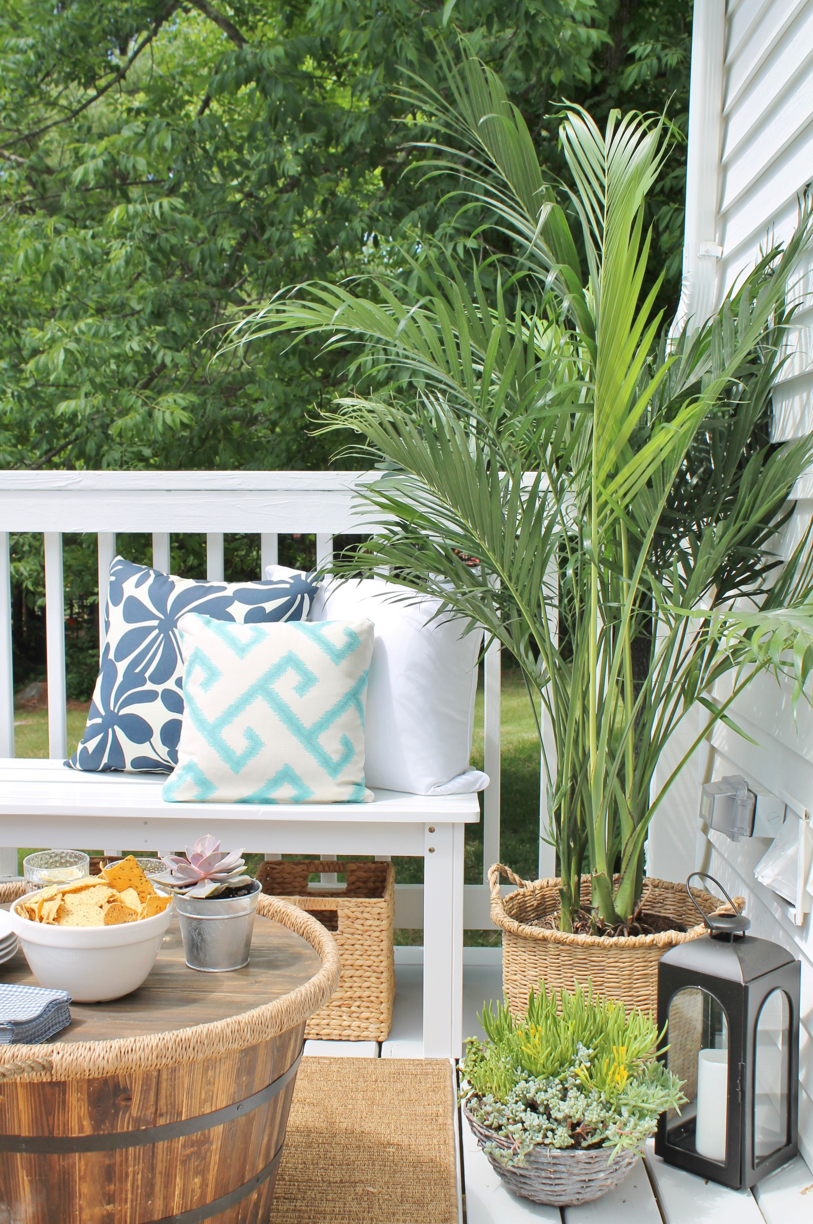 Lowes spring makeoveroutdoor oasis city farmhouse