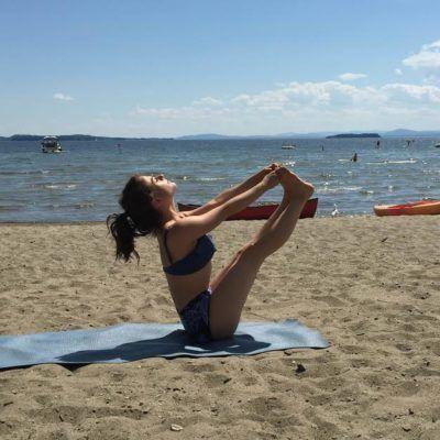 beginner ballet leg routine  beach yoga yoga sequences