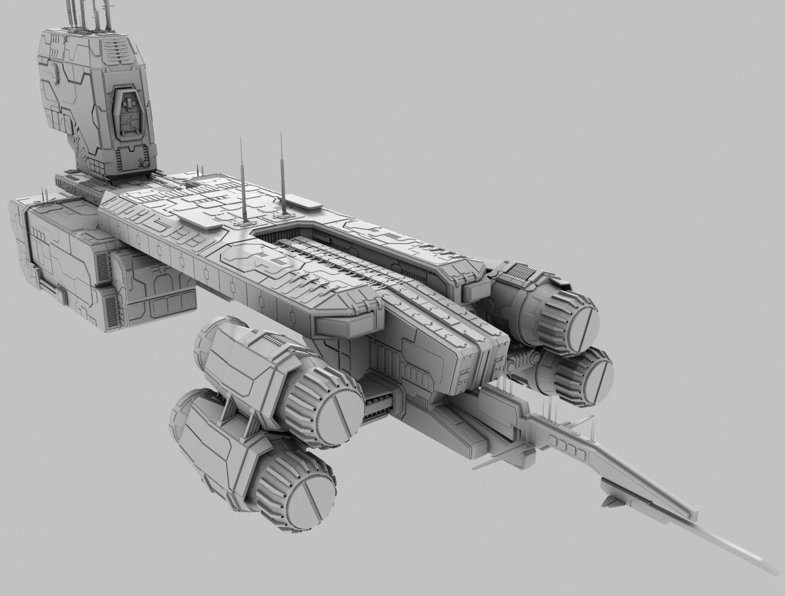 Terran Spaceship Terran Spaceship Spaceship Design Ship Art