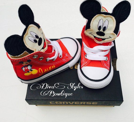 Mickey Converse, Mickey Mouse Baby Converse, Mickey Mouse