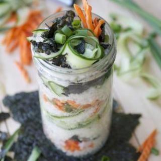 Sushi Parfait Recipe on Yummly. @yummly #recipe
