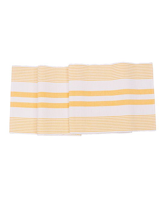 Sun-Drenched Table Runner