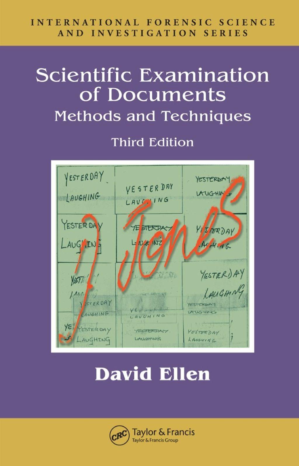 Scientific Examination Of Documents Ebook Rental