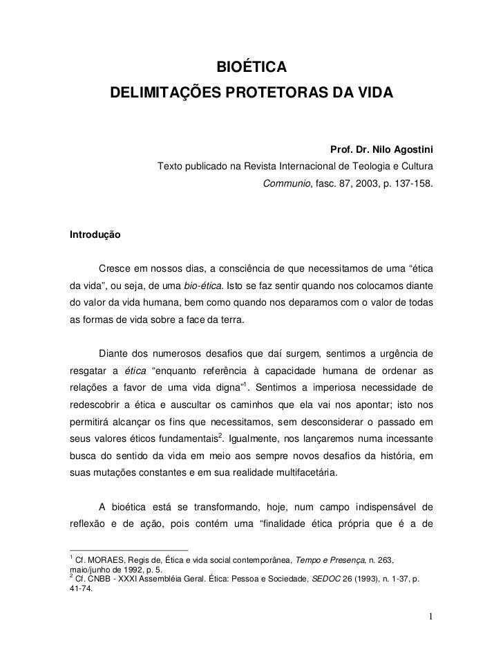 Livro   bioetica by Zé Vitor Rabelo via slideshare
