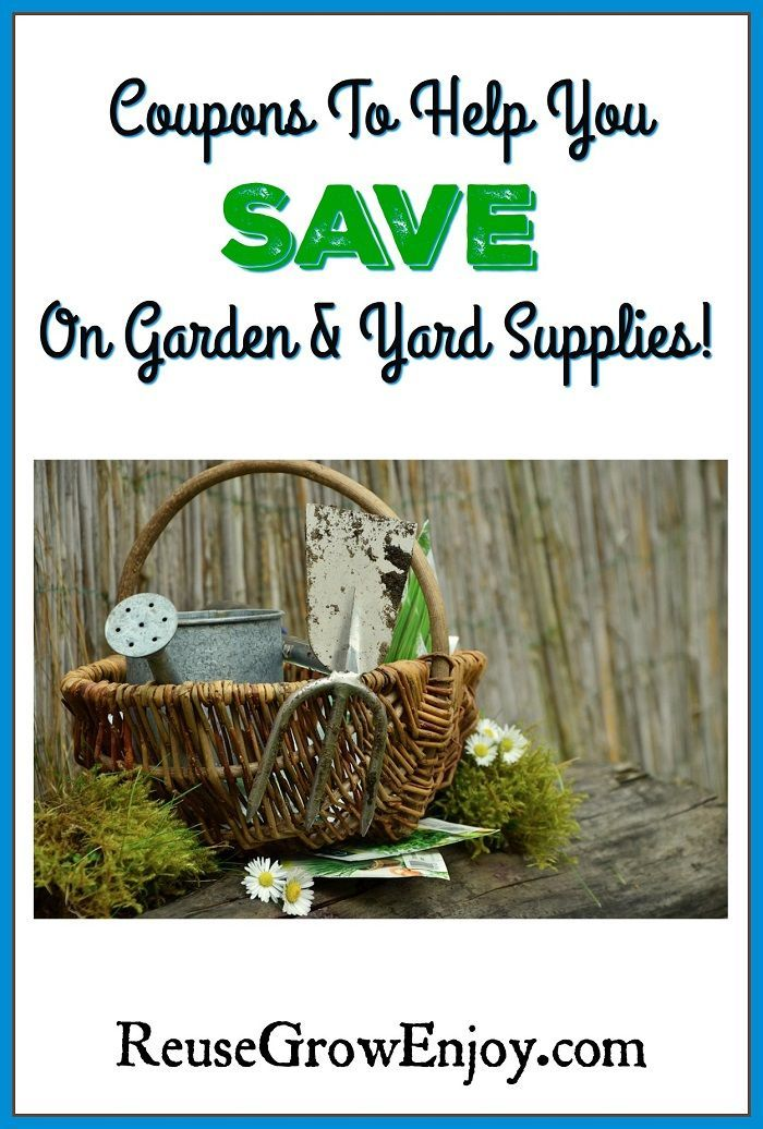 If You Are Trying To Find Ways To Save On Garden Supplies You
