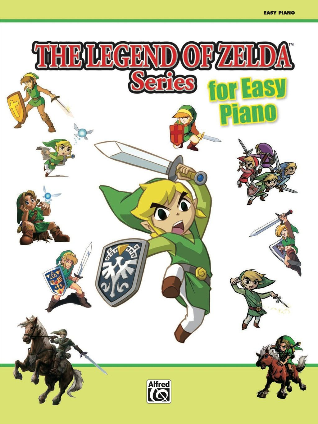 The Legend Of Zelda Series For Easy Piano Sheet Music From The