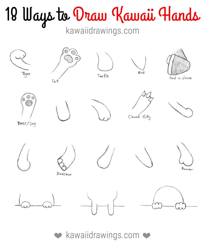how to draw kawaii doodles