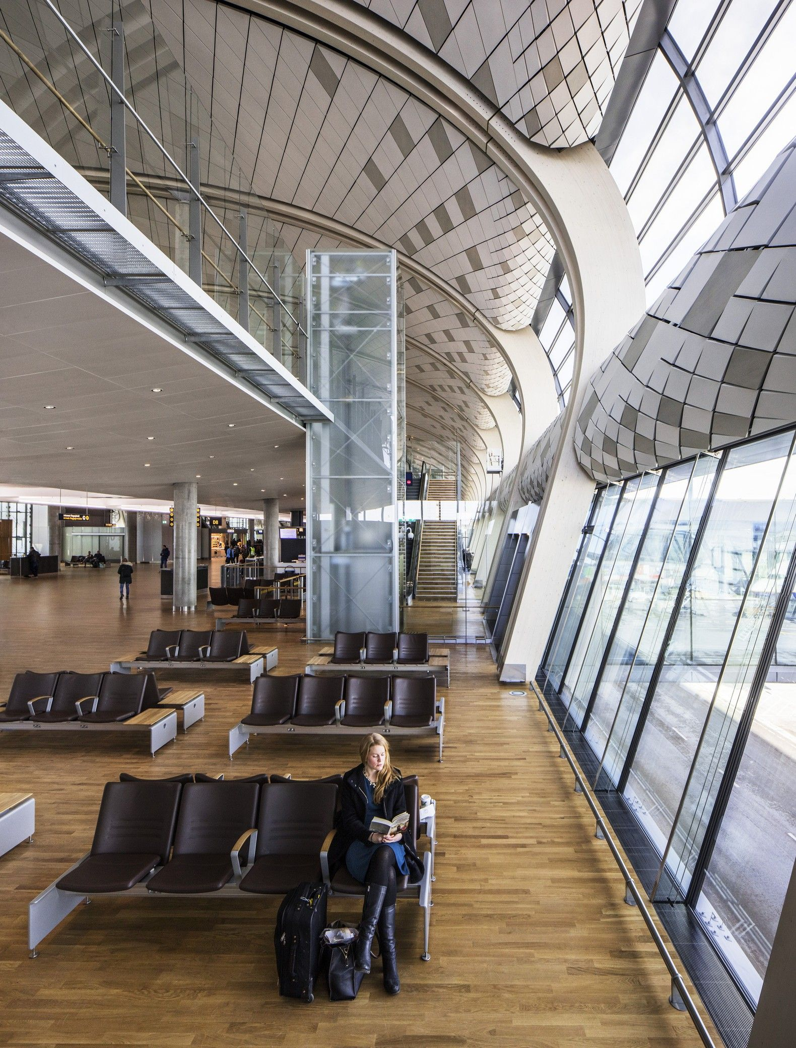 Oslo Airport Expansion Nordic Office Of Architecture Arch2o Com Oslo Airport Architecture Scandinavian Architecture