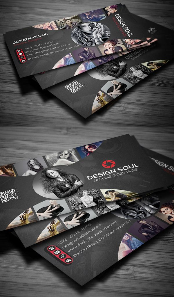 Modern Business Cards Design 26 Creative Examples