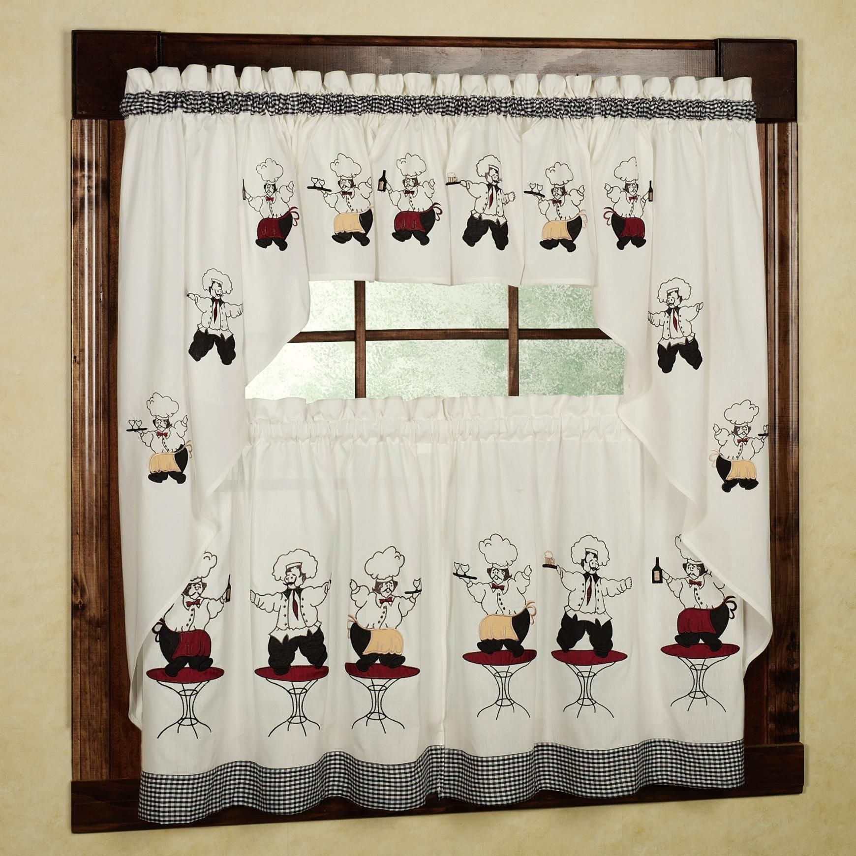French Chef Kitchen Curtains | http://latulu.info/feed/ | Pinterest ...