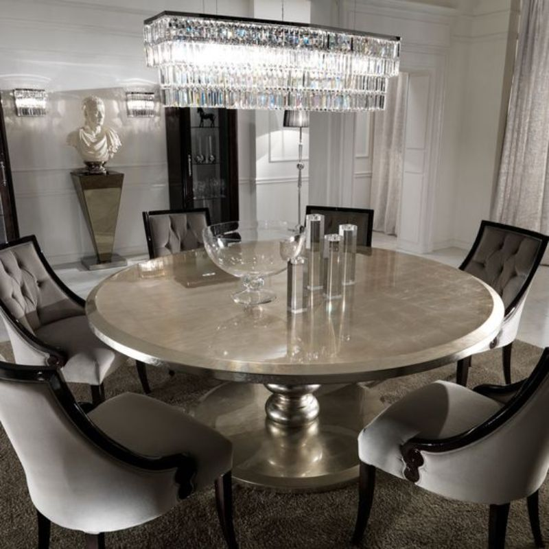 10 Round Dining Tables To Create A Cozy And Modern Decor Round