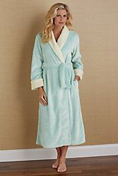 Frosted Plush Robe