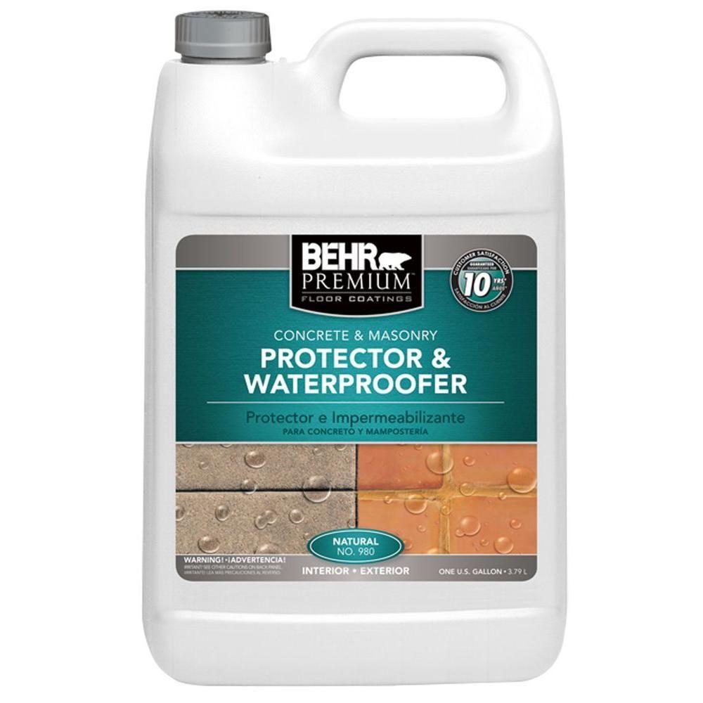 Behr premium 1 gal natural protector and waterproofer