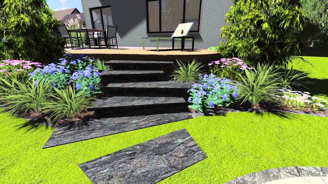 12 3d Gartengestaltung In 2020 Gartengestaltung Garten Gartendekor