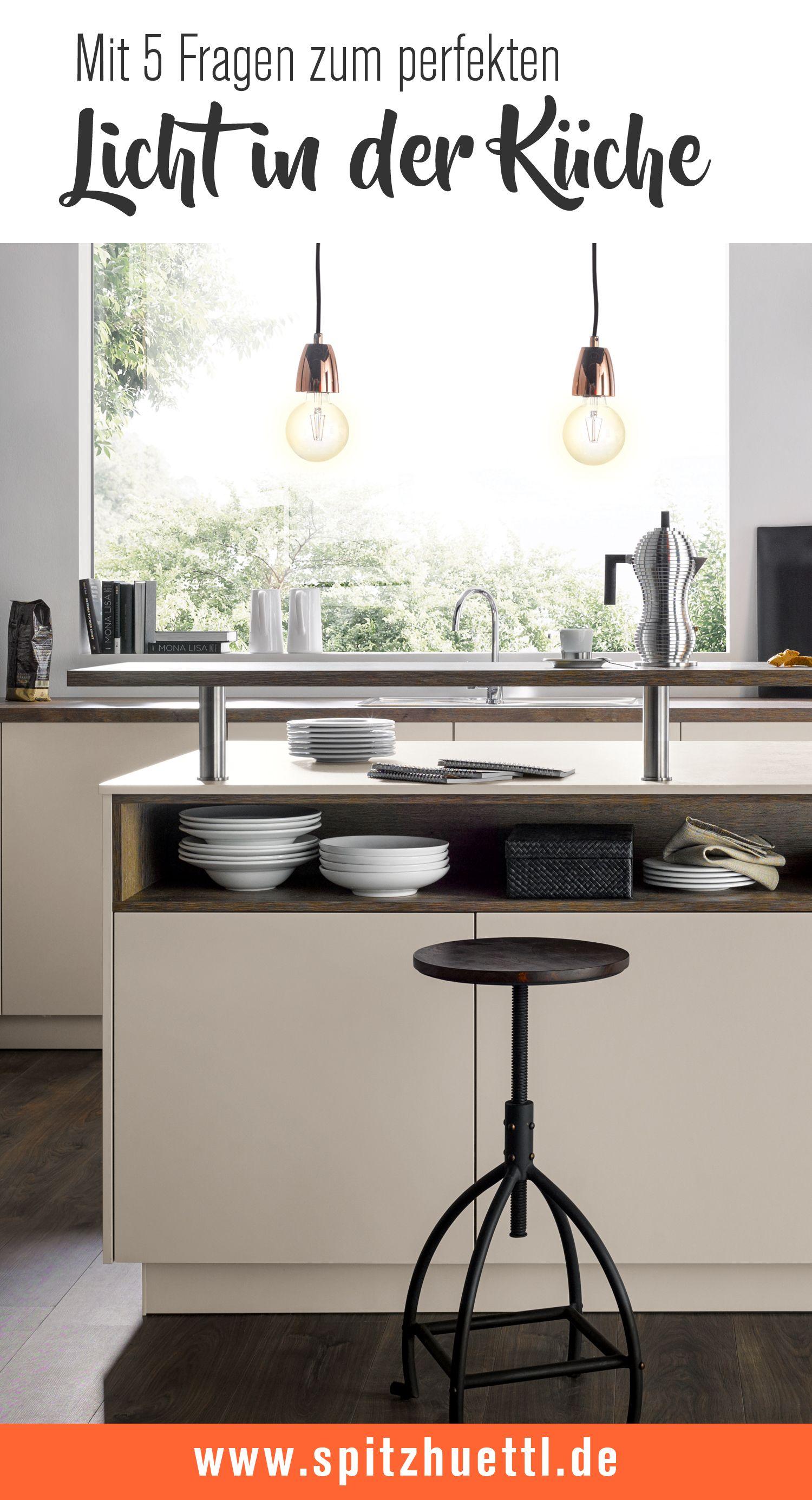 Die richtige Beleuchtung in der Küche Küche