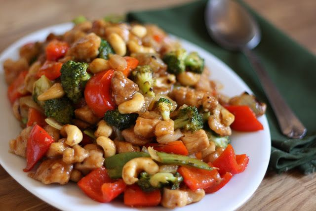 I've made this 3 times now, and it's become my favorite Asian recipe: Sriracha Honey Cashew Chicken