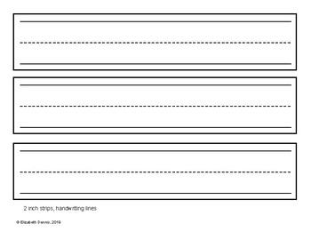 Custom Pocket Chart Printable Sentence Strips - Blank to ...