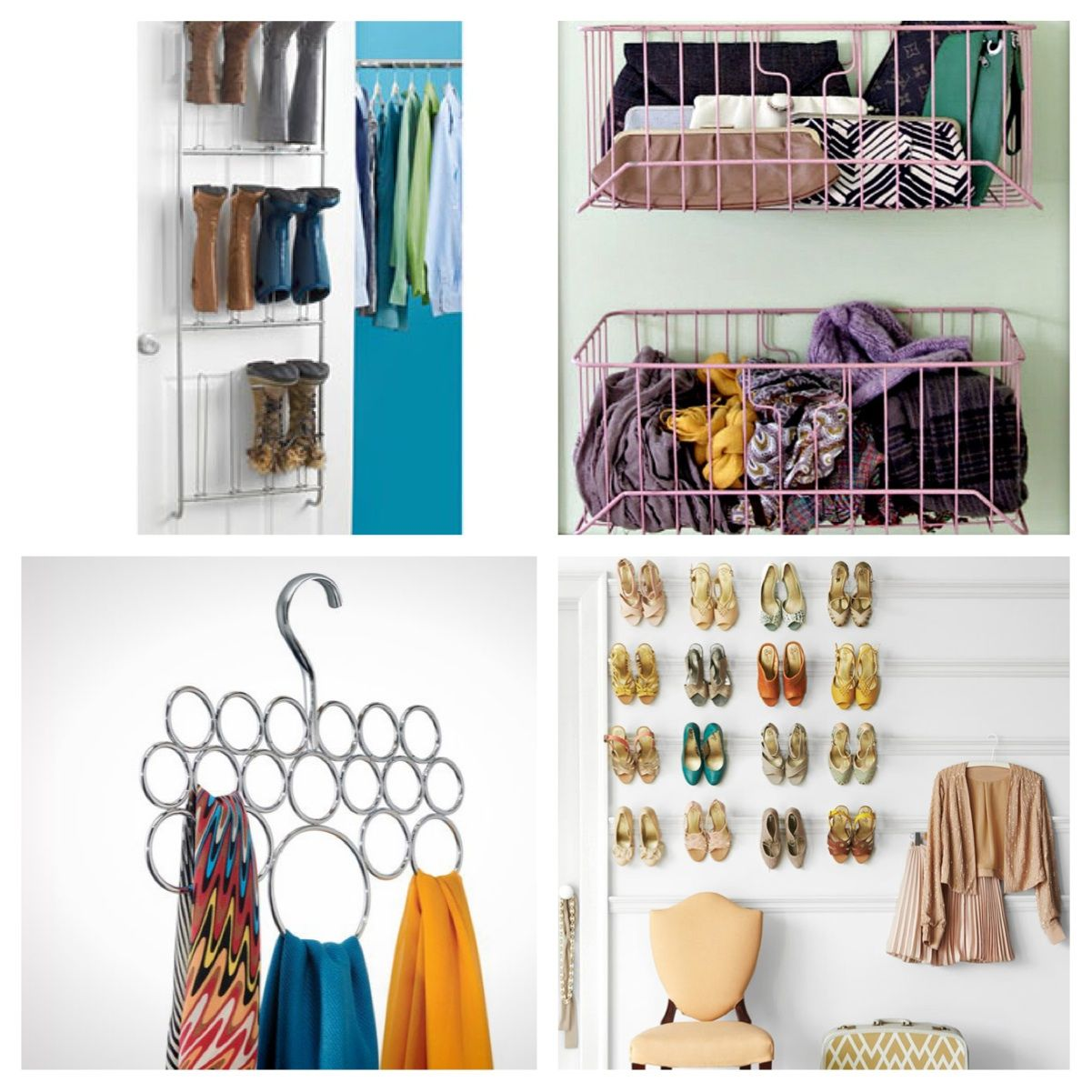 13 Smart Closet Organizing Ideas | For the Home | Pinterest ...