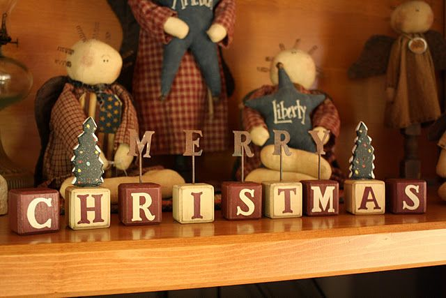Simple Christmas Blocks